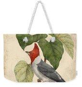 Vintage Bird Study-d Weekender Tote Bag
