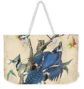 Vintage Bird Study-f Weekender Tote Bag
