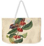 Vintage Bird Study-h Weekender Tote Bag