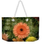 Vintage Blooms Weekender Tote Bag