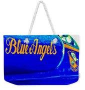 Vintage Blue Angel Weekender Tote Bag
