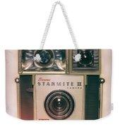 Vintage Brownie Starmite Camera Weekender Tote Bag
