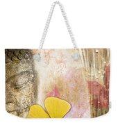 Vintage Buddha And Ginkgo Weekender Tote Bag