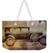Vintage Buick Weekender Tote Bag by David Ridley
