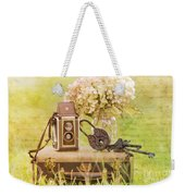 Vintage Camera And Case Weekender Tote Bag