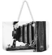 Vintage Camera - Black And White Weekender Tote Bag