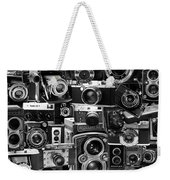 Vintage Camera Montage Weekender Tote Bag