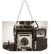 Vintage Cameras Weekender Tote Bag