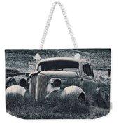 Vintage Car At Bodie Weekender Tote Bag by Kelley King