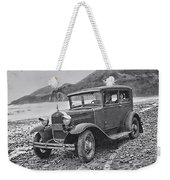 Vintage Car Weekender Tote Bag