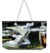Goddess Of Speed Packard Hood Ornament  Weekender Tote Bag