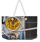 Vintage Car Light Weekender Tote Bag