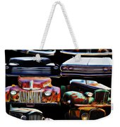 Vintage Cars Collage 2 Weekender Tote Bag