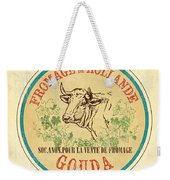 Vintage Cheese Label 1 Weekender Tote Bag