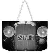 Vintage Chevrolet Grill Weekender Tote Bag