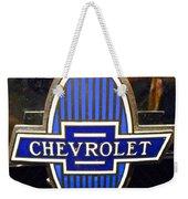 Vintage Chevrolet Logo Weekender Tote Bag