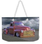 Vintage Chevy 1949 Weekender Tote Bag
