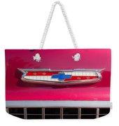 Vintage Chevy Bel Air Weekender Tote Bag