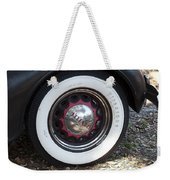 Vintage Chrysler Automobile Wide Whitewall Tire Poster Look Usa Weekender Tote Bag