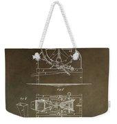 Vintage Cider Mill Patent Weekender Tote Bag