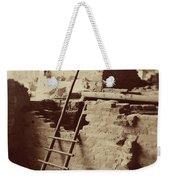 Vintage Cliff Dwelling Weekender Tote Bag