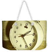 Vintage Clock Weekender Tote Bag