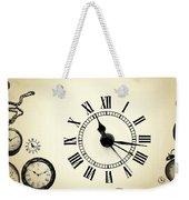 Vintage Clocks Weekender Tote Bag