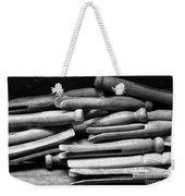 Vintage Clothespins Weekender Tote Bag