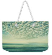 Vintage Clouds Weekender Tote Bag