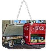 Vintage Coca-cola And Rocket Wagon Weekender Tote Bag