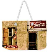 Vintage Colas Weekender Tote Bag