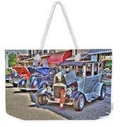 Vintage Cruise Cars 5 Weekender Tote Bag