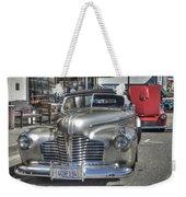 Vintage Cruise Cars 6 Weekender Tote Bag