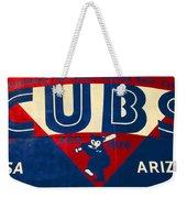 Vintage Cubs Spring Training Sign Weekender Tote Bag