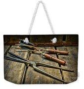 Vintage Curling Iron  Weekender Tote Bag