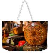 Vintage Cuss Box Weekender Tote Bag