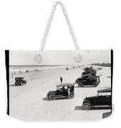 Vintage Daytona Beach Florida Weekender Tote Bag