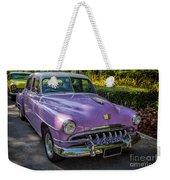 Vintage Desoto Weekender Tote Bag