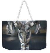 Vintage Dodge Ram Hood Ornament Weekender Tote Bag