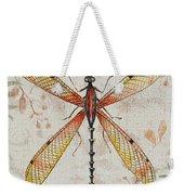 Vintage Dragonfly-jp2563 Weekender Tote Bag