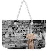 Vintage Drug Store Weekender Tote Bag