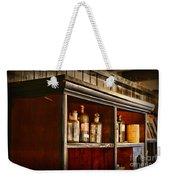 Vintage Druggist Shelf Weekender Tote Bag