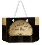 Vintage Electrical Meters Weekender Tote Bag