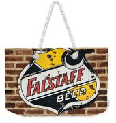 Vintage Falstaff Beer Shield Dsc07192 Weekender Tote Bag