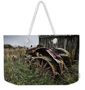 Vintage Farm Tractor Color Weekender Tote Bag