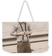 Vintage Fashion Model Weekender Tote Bag