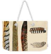 Vintage Feather Study-jp2085 Weekender Tote Bag