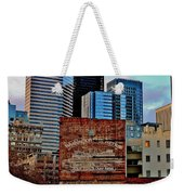 Vintage Ferry Advertisement Weekender Tote Bag by Benjamin Yeager