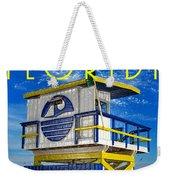 Vintage Florida Travel Style Artwork Weekender Tote Bag
