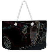 Vintage Ford Neon Art Grill Weekender Tote Bag